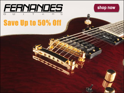 Buy Fernandes Guitars and Basses