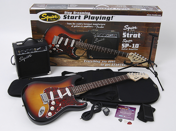 Squier SE Special Guitar Package