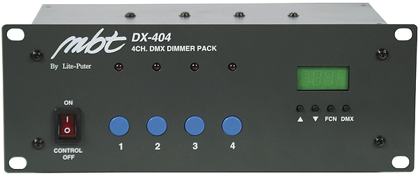 DX404 Dimmer Pack