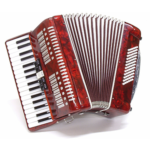 Parrot 34-key Piano-style Accordion