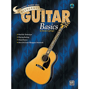Ultimate Beginner Series - Bluegrass Guitar Basics (Book & CD)