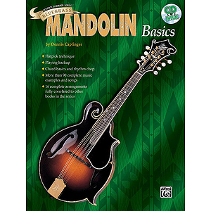Ultimate Beginner Series - Bluegrass Mandolin Basics - Book & CD