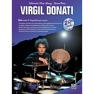 Ultimate Play-Along Drum Trax - Virgil Donati (Book & 2 CDs)