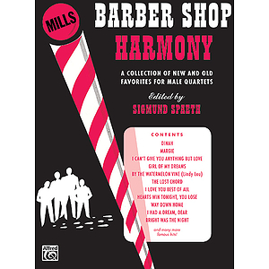 Barber Shop Harmony - TTBB