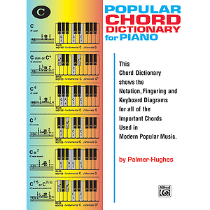 Popular Piano Chord Dictionary