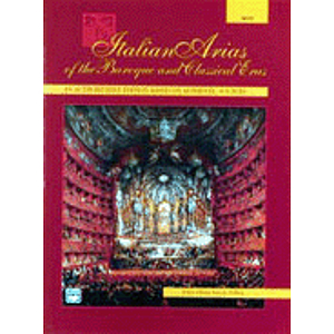 Italian Arias of The Baroque and Classical Eras - Compact Disc Only (High)
