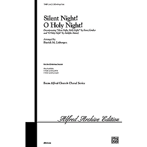 "Silent Night! O Holy Night! (Incorporating ""Silent Night, Holy Night"" and ""O Holy Night"") - SAB W/Optional Flute"