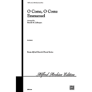 O Come, O Come Emmanuel - SATB W/Optional Solo and Flute