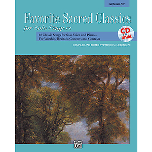 Favorite Sacred Classics for Solo Singers - Book and Accompaniment CD (Medium Low)