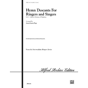 Hymn Descants for Ringers and Singers, Vol I (Advent, Christmas & Epiphany) - Handbell Part