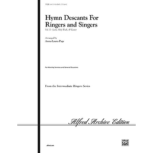 Hymn Descants for Ringers and Singers, Vol Ii (Lent, Holy Week &amp; Easter) - Handbell Part