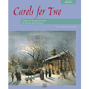 Carols for Two - Any Voice Combination - Book