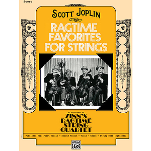 Ragtime Favorites for Strings Score
