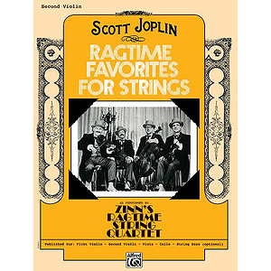 Ragtime Favorites for Strings 2Nd Violin