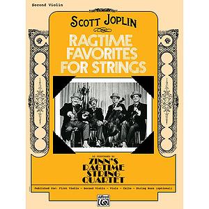 Ragtime Favorites for Strings 2Nd Violin