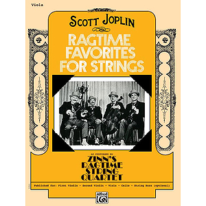 Ragtime Favorites for Strings Viola