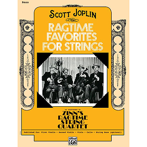 Ragtime Favorites for Strings Bass