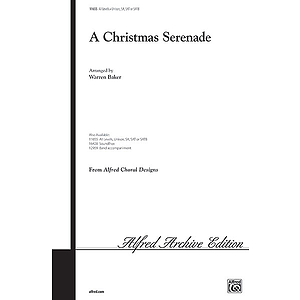 Christmas Serenade, A - Unison/2-Part/SAB - SATB