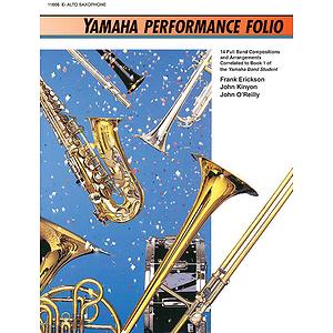 Yamaha Performance Folio Eb Alto Saxophone
