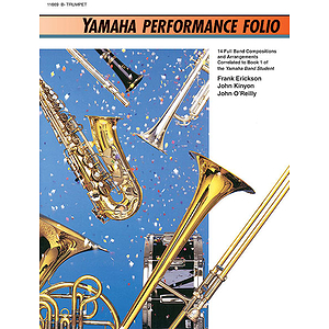 Yamaha Performance Folio Bb Trumpet