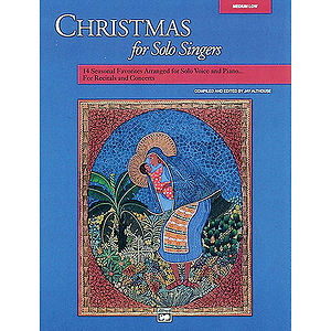 Christmas for Solo Singers - Compact Disc Only (Medium High)