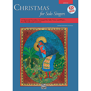 Christmas for Solo Singers - Book and Compact Disc (Medium Low)