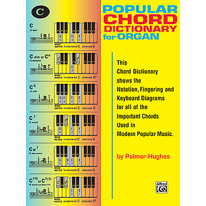 Popular Organ Chord Dictionary