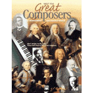 Meet the Great Composers - Book 1 & CD