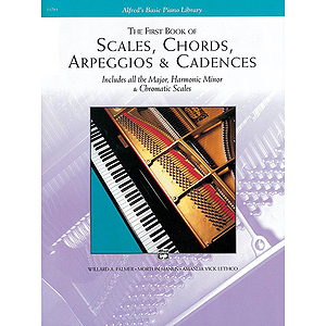 Scales, Chords, Arpeggios and Cadences - First Book