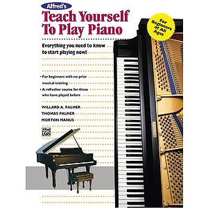 Alfred's Teach Yourself To Play Piano - Book/Enhanced CD