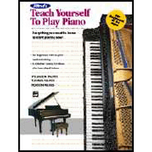 Alfred's Teach Yourself To Play Piano - Enhanced CD