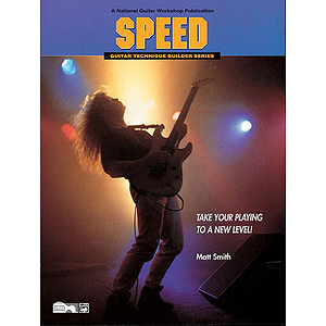 Speed (Guitar Technique Builders Series) - Book