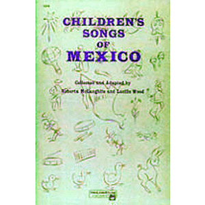 Children's Songs of Mexico - Book