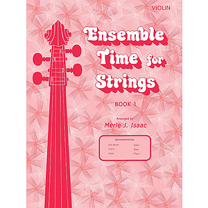 Ensemble Time for Strings Book 1 Violin