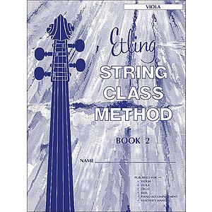 Etling String Class Method, Book 2: Viola