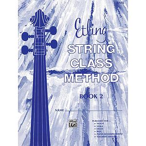 Etling String Class Method, Book 2: Bass