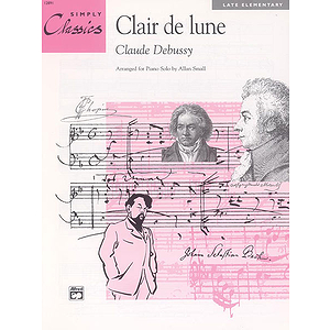 Clair De Lune - Simply Classics Solos