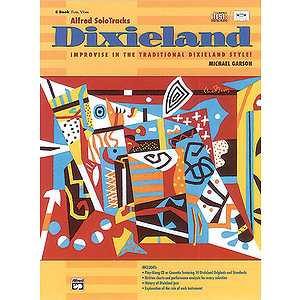 Alfred's Solotracks Dixieland - C Instruments - Book & CD