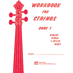 Workbook for Strings, Book 1: Cello