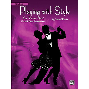 Playing with Style - Viola Duets
