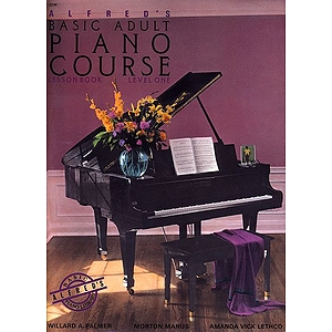 Alfred's Basic Adult Piano Course - Lesson Book Level 1, Book and CD