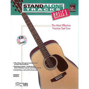 Stand Alone Tracks: Basic Guitar, Book 1 - Book & CD