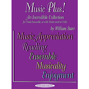 Music Plus! for Viola Ensemble Or with Violin And/Or Cello