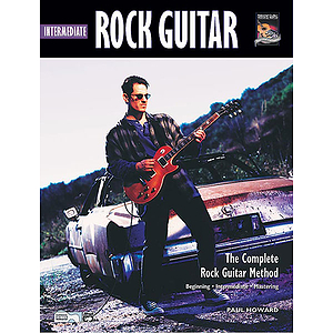 Intermediate Rock Guitar - Book & CD