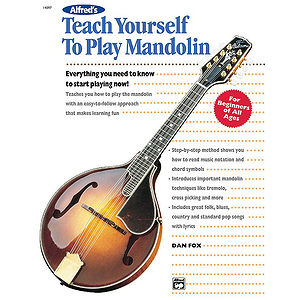 Alfred's Teach Yourself To Play Mandolin - Book