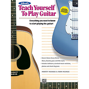 Alfred's Teach Yourself To Play Guitar - Book/Enhanced CD