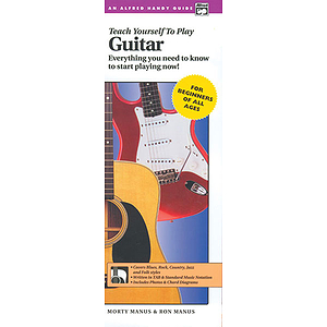 Alfred's Teach Yourself To Play Guitar (Handy Guide)