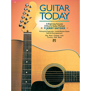 Guitar Today, Book 1 - Book & CD