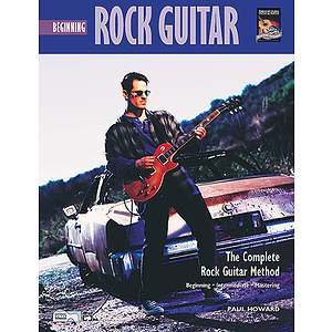 Beginning Rock Guitar - Book & Audio CD