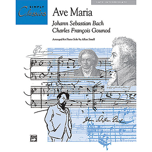 Ave Maria - Simply Classics Solos